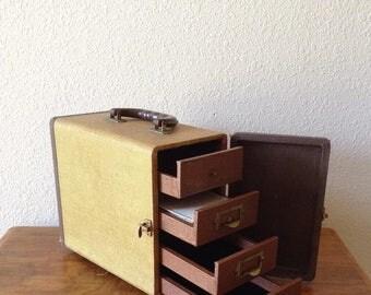 Vintage Realist 3D Slide Storage Case, Art Storage Case, Art Box