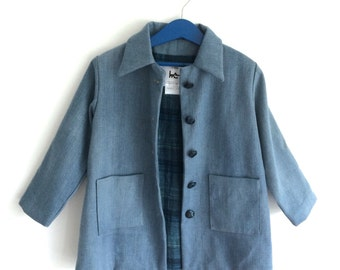 Child coat denim