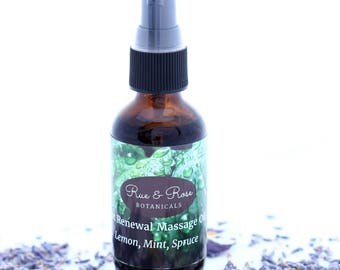 Foot Renewal Massage Oil