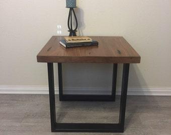 Side table, Pecky Bolivian Walnut, handmade