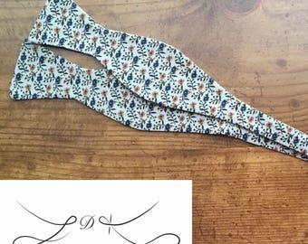 JC Bow Tie in Harvest Floral - Self Tie