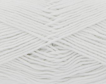 White (530) Bamboo Cotton Double Knitting