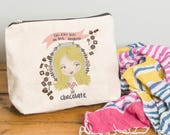 Personalised Illustrated This Girl Make Up Bag