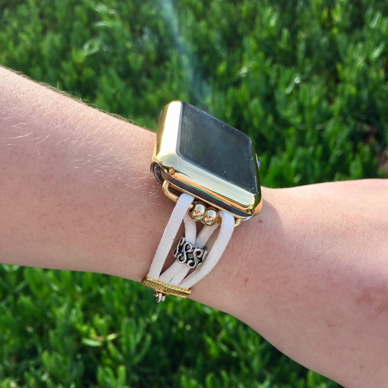 Apple Watch iWatch Band 38mm 42mm Women Bands Case Bracelet