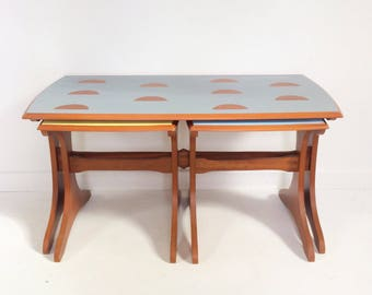 SOLD Vintage nest of tables