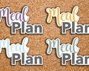 20 Meal Plan, Meal Prep Header Sticker for 2017 Inkwell Press IWP-S65