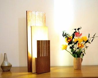 NABULA: Solid Sipo and Frake lamp