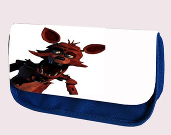Five Nights at Freddy's pencil case/ Make up or Clutch Bag (JUST FOXY)