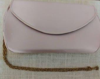 Pink Satin Handbag