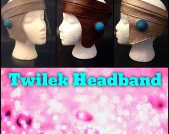 Twilek Headband for Lekku (two piece)