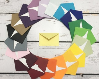 """Small envelopes with cards 1.5x2.25"""""""