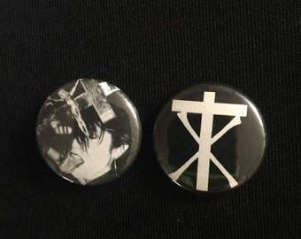 "Christian Death 1"" Button"
