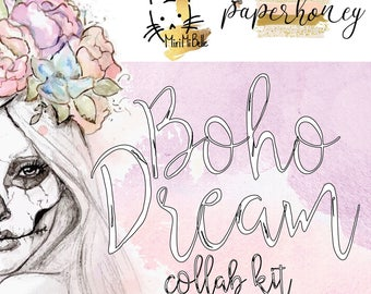 Boho Dream - GLOSSY - limited edition collab mystery kit
