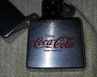 Rare Vintage Coca-Cola Zippo Lighter