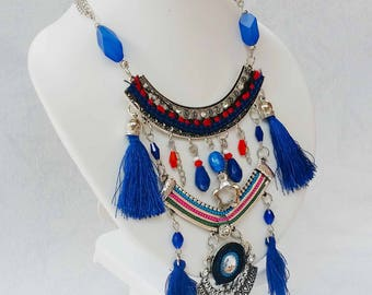 Folk inspirations ethnic necklace