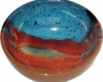 Salad Bowl in Azulscape Glaze