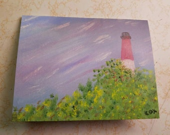 Lighthouse (1 Note card with White Envelope)