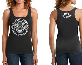 Sugar Skull ribbed tank