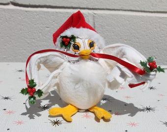 Annalee Christmas Owl 1993 Snow Bird