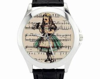 Alice in Wonderland Watch - Alice Drink Me Watch - Alice Jewelry - Alice in Wonderland Wrist Watch