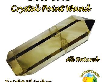 Citrine Crystal Point Wand