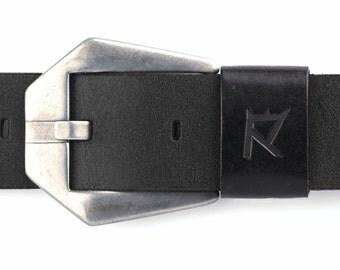 Leather Belt, Mens Leather Belt, Womens Leather Belt, Genuine Leather Belt, Full Grain Leather Belt, Black Leather Belt, Black Mens Belt