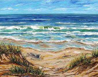 Petoskey Shore, Lake Michigan, Summer Vacation, Beach, waves, sand, driftwood