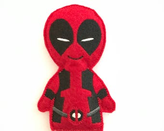 Deadpool inspired Catnip Toy