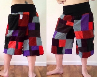 Your choice long patchwork shorts