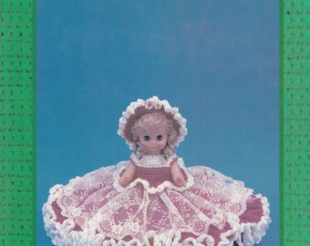 Jennifer, Td Creations Crochet Bed Doll Clothes Pattern Booklet TD-798