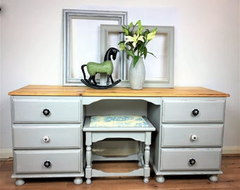Sold ***** Sold  Double Dressing Table and Stool