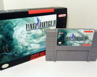 Final Fantasy IV 4 - English SNES Translation NTSC - ff iv