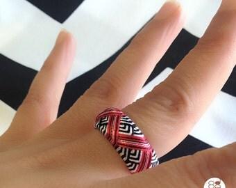 Yubinuki / Japanese thimble ring Yubinuki / Kimono style / Thimble
