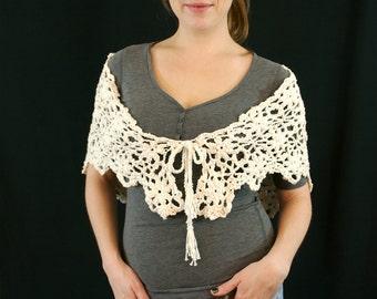 Granny Square Shawl, Crocheted Shawl, Knit Triangle Wrap, Knit Triangle Cover, Crochet Wrap, Crochet Cover, Granny Square Scarf