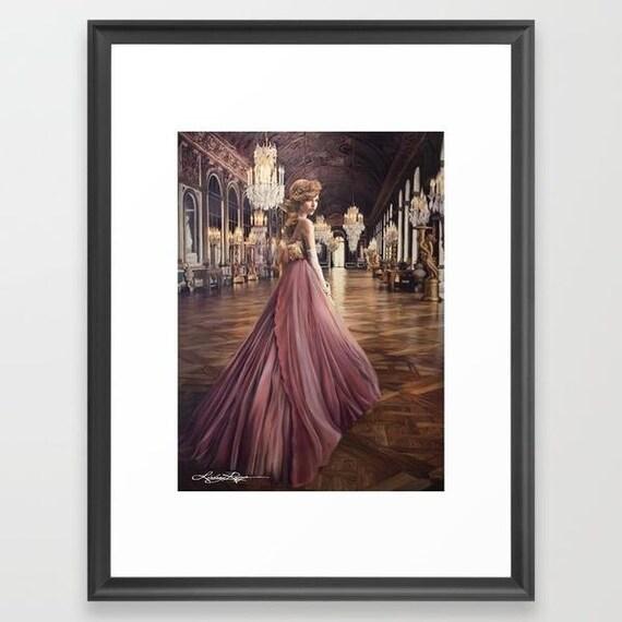 Versailles - Framed Paper Print