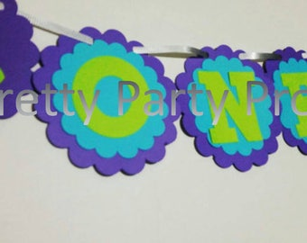 Monster's Inc one banner,  Mikey and sulley party 1 sign, monster university birthday banner, high chair banner for monster inc birthday