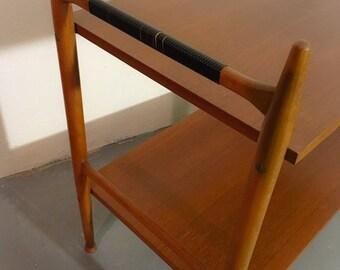 Danish mid century teak side table