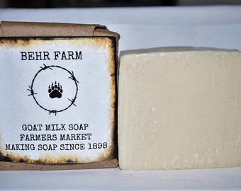 Farmers Market Goats Milk Soap