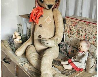 RARITY! Vintage stuffed animal XXL