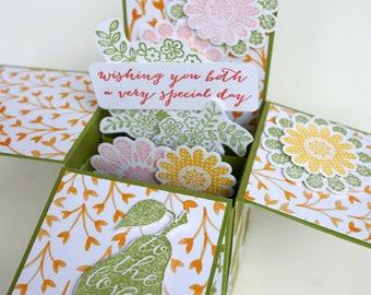 Lovely Pear Wedding Card