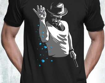 New Salt Bae T-Shirt Inspired by Breaking Bad Heisenberg Funny Meme Parody T-Shirt Mens and Ladies Womens T-Shirt Unisex Adult Sizes