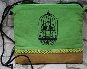 Shoulder bag 'Birds of love'