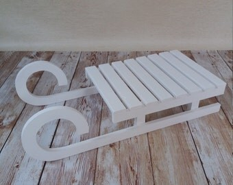 Wooden sled , Children sled,photography prop,Wooden winter sleigh