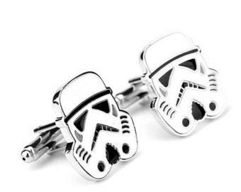 Star Wars R2D2 Cufflinks -k93 Free Gift Box**