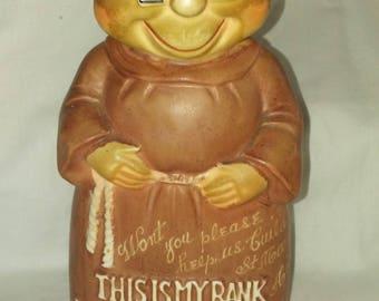 Japan Made Monk Bank 1950s