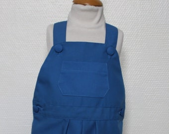 Overalls canvas blue T 18-24 months
