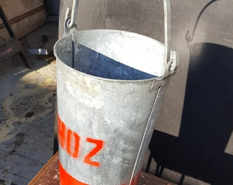 Vintage Galvanised Bucket