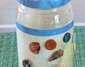 Sand and Sea Jar
