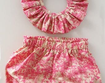 collar pierrot and bloomer
