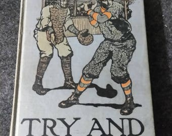 Try and Trust....Harry Vane. Both Books by HORATIO ALGER,JR